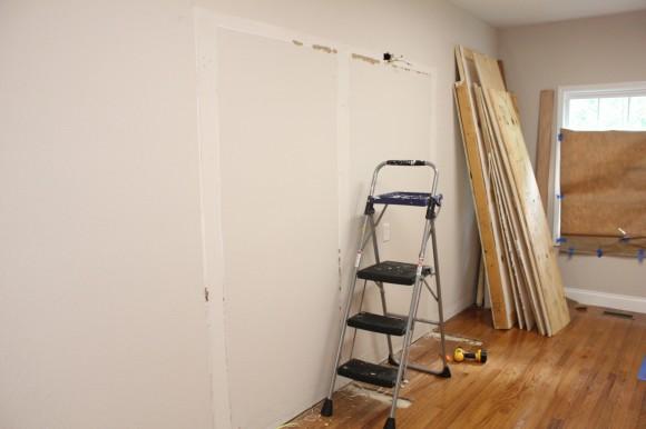 Starting the master closet remodel
