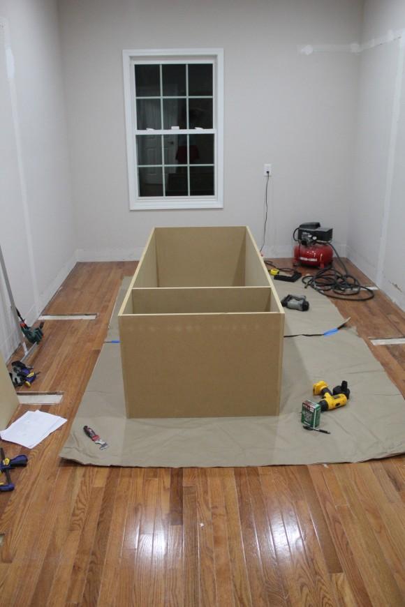 Building wardrobe cabinet