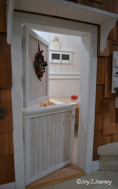 Closet Playhouse door