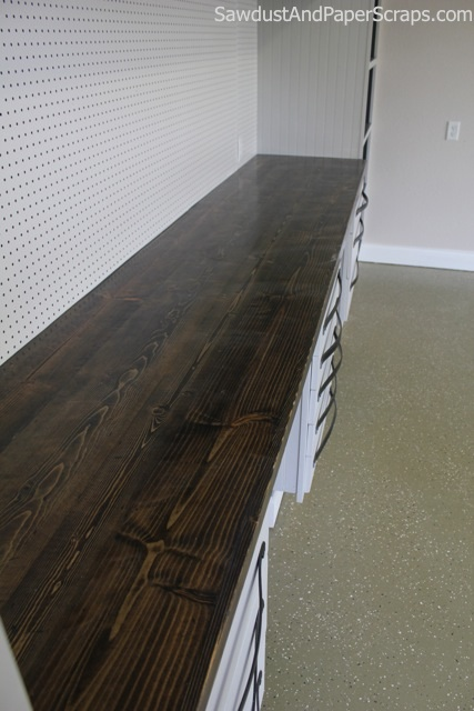 DIY Wood Countertops