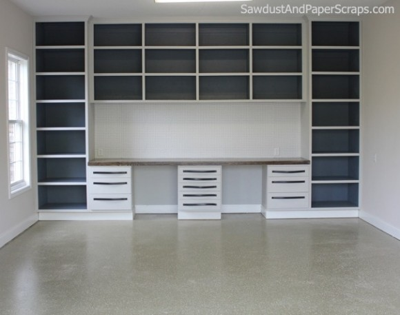 Garage Workshop Cabinets