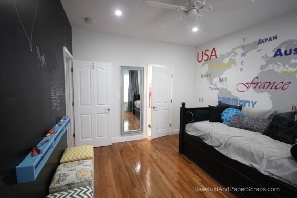 World Art Bedroom Reveal